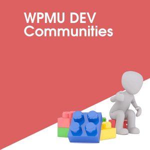 WPMU DEV Communities