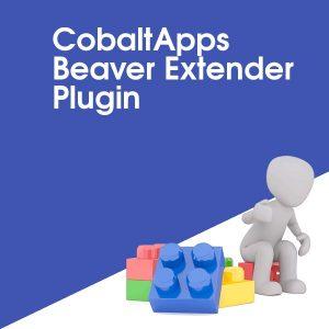 CobaltApps Beaver Extender Plugin