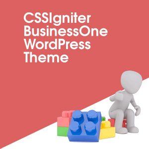 CSSIgniter BusinessOne WordPress Theme