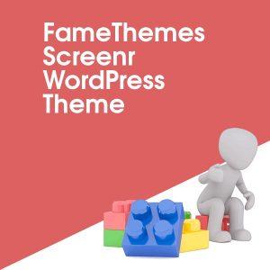 FameThemes Screenr WordPress Theme