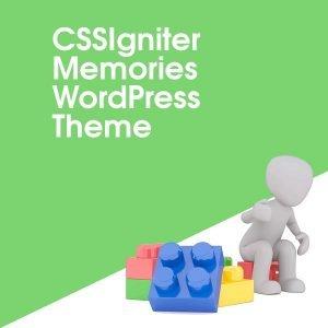 CSSIgniter Memories WordPress Theme