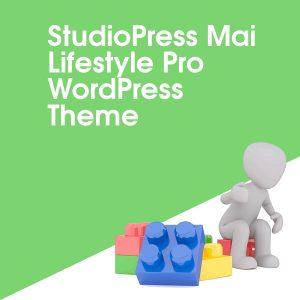 StudioPress Mai Lifestyle Pro WordPress Theme