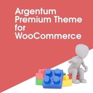 Argentum Premium Theme for WooCommerce