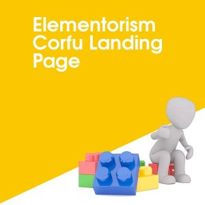 Elementorism Corfu Landing Page