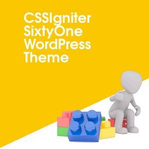 CSSIgniter SixtyOne WordPress Theme