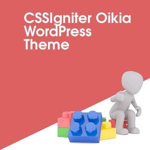CSSIgniter Oikia WordPress Theme
