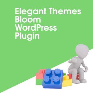 Elegant Themes Bloom WordPress Plugin