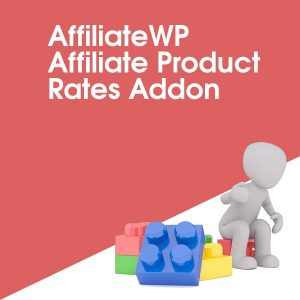AffiliateWP Affiliate Product Rates Addon