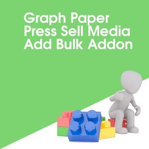 Graph Paper Press Sell Media Add Bulk Addon