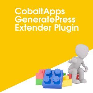 CobaltApps GeneratePress Extender Plugin