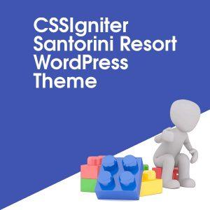 CSSIgniter Santorini Resort WordPress Theme